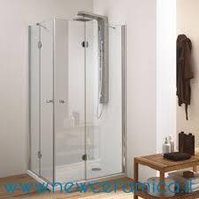 ferbox cabine doccia box doccia angolare con porte a battenti con cerniere modello ska