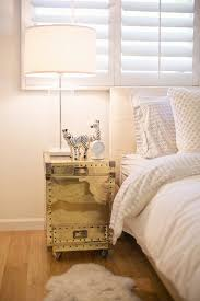 trunk nightstand contemporary bedroom the glitter guide