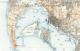 Old Town San Diego Map by Military Bases In The South Bay South Bay Historical Society