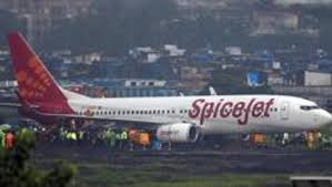 model airport runway lights spicejet plane veers off path damages runway lights bengaluru