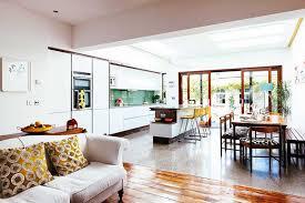 deco salon et cuisine ouverte cuisine ouverte sur salon en 40 nouvelles idées du moderne au rustique