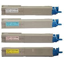 Toner Oki okidata c3300 c3400 c3500 toner cartridge 4 color set compatible