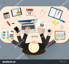 Office Work Images Office Job Stress Work Vector Illustration Stock Vector 396808912