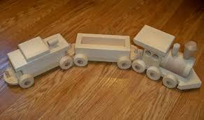 wooden toy train arts crafts and design finds