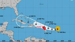 Where Is Puerto Rico On A Map by Hurricane Irma Path Map Where Is Hurricane Irma Now Weather