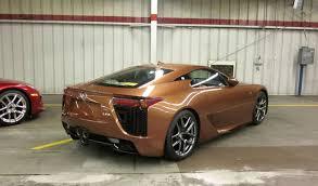 orange lexus lfa pearl brown lexus lfa with orange leather interior lexus enthusiast