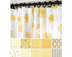 Yellow Window Curtains Yellow Window Curtains Kitchen Curtains Yellow Curtain
