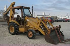 1991 case 580 super k construction king backhoe item h4344