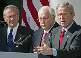 George Bush Cabinet Rumsfeld Swipes At George H W Bush After Critical Bio Clips Ny
