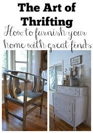 the art of thrifting little vintage nest the art of thriftinghow to furnish your home with great finds