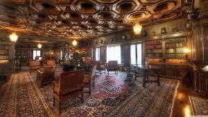 old library room hd desktop wallpaper high definition uhd