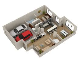 3d floor plan creating a modeled and rendered floor plan top 3d