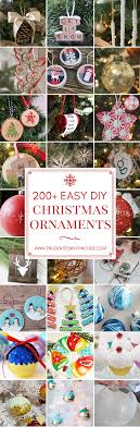 200 easy diy ornaments prudent pincher