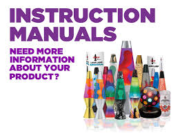 instruction manuals lava lamp