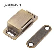 Magnetic Catches For Kitchen Cabinets Burlington Antique Brass Magnetic Catch Formed Uk