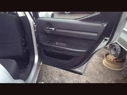 2008 Dodge Charger Interior Parts 2008 Dodge Charger Interior Trim Panel Rear Door 22200819 205