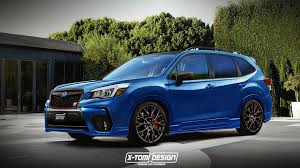 subaru forester subaru forester sti rendering will give you a bad case of nostalgia