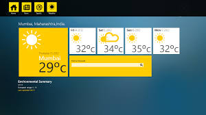 windows 8 news u0026 weather app design template geekchamp component