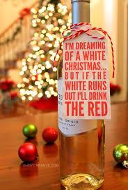 Christmas Wine Free Christmas Wine Bottle Gift Tag Printable