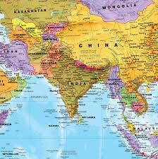 World Map Without Distortion by Amazon Com Giant World Megamap Large Wall Map Paper With Front