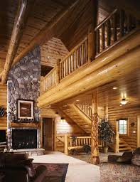 rustic stone and log homes modern stone and log homes half log staircase stairway 36 wide diy kit 14 treads pine cabin