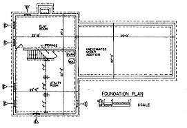 foundation floor plan colonial house plans floor home building mansion old modern