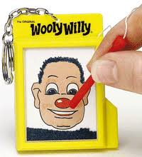wooly willy keychain