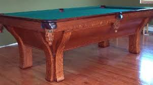 pool tables for sale rochester ny the rochester restored antique billiard pool table