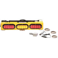 wireless tow light bar wireless led combination tow and warning light bar aw direct