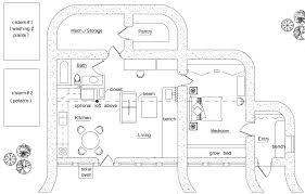 zero energy earthbag house plans