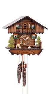 Authentic Cuckoo Clocks Cuckoo Clock Black Forest House Ka 1675 1 Day Running Time Nr