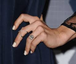 the best celebrity engagement rings from elizabeth taylor to kim