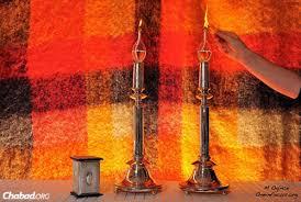 shabbat lights caign inspires rosh hashanah and shabbat candle