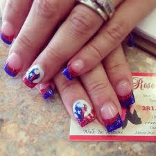 best 25 texans nails ideas on pinterest texas nails 4th of