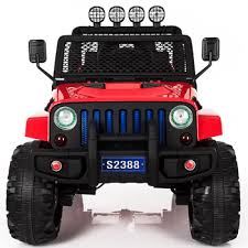 electric jeep for kids 12v 2 seater ride on car jeep kids electric cars for big kids buy