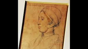 bbc arts portrait drawing of anne boleyn by hans holbein bbc
