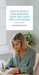 Thank You Letter After Interview Current Employer Best 20 Thank You Interview Letter Ideas On Pinterest