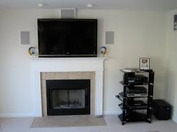 how to hide wires for wall mounted tv over fireplace fireplace ideas