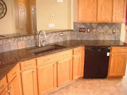 Caring For Granite Kitchen Countertops Coffee Brown Granite Kitchen Countertop Island Finished Installed