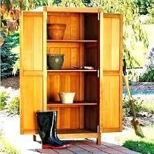 outdoor wood storage cabinet tall garden storage outdoor storage cabinet furniture tall garden