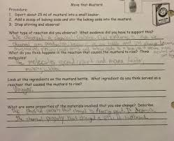chemical reactions labs answer key betterlesson