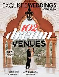 Magazine Wedding Programs Exquisite Weddings San Diego Wedding Magazine U0026 Blog