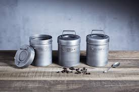 Metal Canisters Kitchen Amazing Metal Canisters Kitchen In Organized With Kitchen Canister
