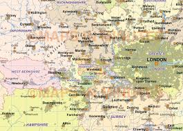 Berkshire England Map by Digital Vector England Map South East Basic In Illustrator Cs And