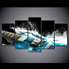 Wall Paintings For Home Decoration Online Get Cheap Guitar Wall Art Aliexpress Com Alibaba Group