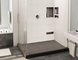 redi base shower pan 42 x 36 center drain right dual curb