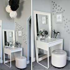 Unique Vanity Table Desk Chairs Vanity Table Chair Mirror Ikea And Without