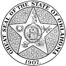 seal of oklahoma clipart etc