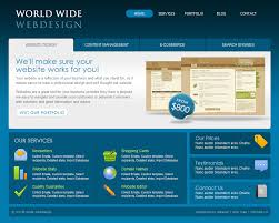 free online home page design world wide webdesign 6 page html by dtbaker themeforest