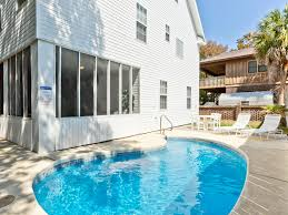 Islander Pool And Patio by Life U0027s A Beach Tybee Island Vacation Rentals